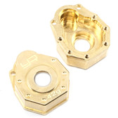 Yeah Racing TRX4-019 Brass Front or Rear Portal Cover 42g 2 pcs : Traxxas TRX-4