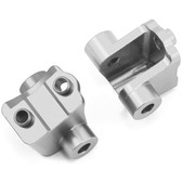 STRC ST8227RS CNC Machined Alum Rear Lower Shock Mount Silver (2) : Traxxas TRX-4