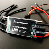 HobbyWing SEAKING Pro 120A ESC Brushless Speed Control Boat