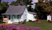 Woodland Scenics Country Cottage N Railroad Train Building  PF5206
