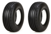 Vaterra VTR44005 Front Tires Ribbed with Foam Soft 40mm 2 Glamis Uno