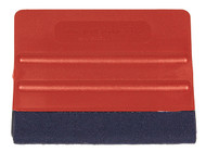 Avery Red Felt Squeegee