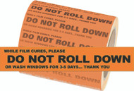 Do Not Roll Down Stickers (1000 Count)