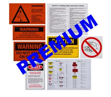 Premium Line Pump Stickers