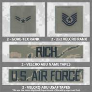 Name Tape Bundle - ABU Fleece/Parka