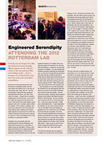 Engineered Serendipity: Attending the 2012 Rotterdam Lab
