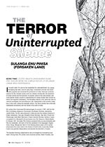 The Terror of Uninterrupted Silence: <i>Sulanga Enu Pinisa</i> (<i>Forsaken Land</i>)