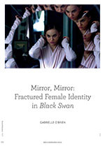 psychoanalytic critique on the black swan I've noticed there's not a single discussion of this great movie in this subreddit,  but rather just comparations to aronofsky's other works, or.