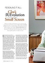 Revealing it All: <i>Cleo</i>? (R)Evolution on the Small Screen