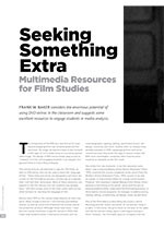 Seeking Something Extra: Multimedia Resources for Film Studies