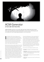 ACMI Generator: A YouTube for Teachers