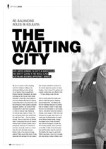 Re-balancing Roles in Kolkata: <i>The Waiting City</i>