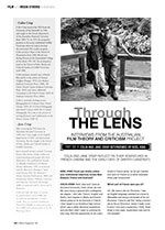Through the Lens: Interviews from the Australian Film Theory and Criticism Project ?Colin and Jane Crisp