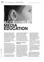 Accessible Media Education