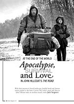 At the End of the World: Apocalypse, Survival and Love in John Hillcoat? <i>The Road</i>