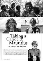 Taking a Canoe to Mauritius: The Embassy Film Roadshow