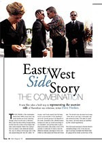East/West Side Story: <i>The Combination</i>