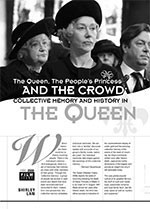 The Queen, the People? Princess and the Crowd: Collective Memory and History in <i>The Queen</i>