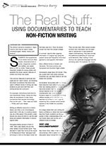 The Real Stuff: Using Documentaries to Teach Non-fiction Writing