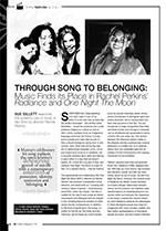 Through Song to Belonging: Music Finds its Place in Rachel Perkins?<i>Radiance</i> and <i>One Night the Moon</i>
