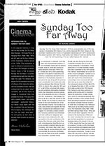 The NFSA? Kodak/Atlab Cinema Collection: <i>Sunday Too Far Away</i>
