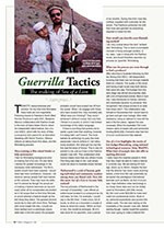 Guerrilla Tactics: The Making of <i>Son of a Lion</i>