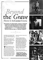 Beyond the Grave: Horror and Indonesian Cinema