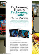 Performing History, Performing Truth: <em>The Act of Killing</em>