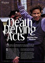 Behind the Illusion: <i>Death Defying Acts</i>