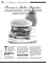 Become a Media Megastar: Analysing Junk Food Advertising