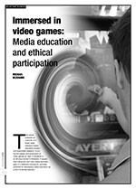 Immersed in Video Games: Media Education and Ethical Participation