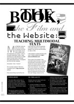 The Book, The Film and the Website: Teaching Multimodal Texts