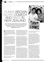 Funny Brown Guys: Comedy and Race in New Zealand