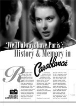 We'll Always Have Paris': History and Memory in <i>Casablanca</i>