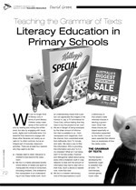 Teaching the Grammar of Texts: Literacy Education in Primary Schools