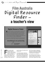 Film Australia Digital Resource Finder: A Teacher's View