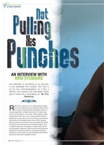 Not Pulling His Punches: An Interview with Kriv Stenders; Technical Knockout: Kriv Stenders' <i>Boxing Day</i>