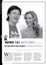 Idiot's Box: The 2006 Idiot's Box Awards: The Bipolar Episode Edition