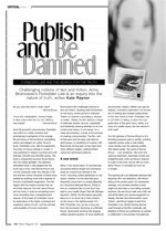 Publish and Be Damned: <i>Forbidden Lie$</i> and the Search for the Truth