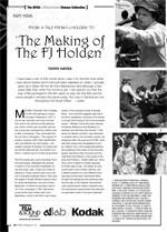 The NFSA's Atlab/Kodak Cinema Collection: <i>The FJ Holden</i>