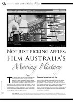 Not Just Picking Apples: Film Australia's Moving History