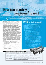 Society under pressure ?1942 and the Battle for Australia