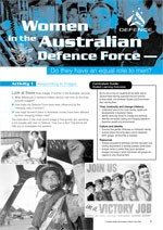 Women in the Australian Defence Force