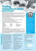 Finding treasures at home ?Exploring family memorabilia