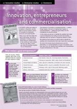Innovation, entrepreneurship and commercialisation