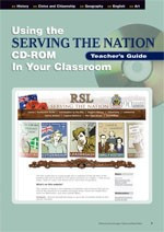 A Teacher? Guide to using Serving The Nation CD-ROM in the classroom