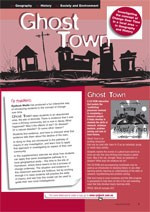 ?host Town??Investigating the concept of Change Over Time in a local area in Geography and History