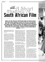 A New Horizon: A Short History of South African Film