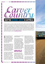 Carver Country: Adapting Raymond Carver in Australia