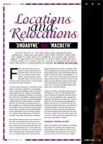 Locations and Relocations: Jindabyne and Macbeth